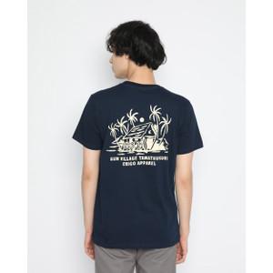Foto Produk Kaos Pria Erigo T-Shirt Sun Village Cotton Combed Navy - S dari Erigo Official