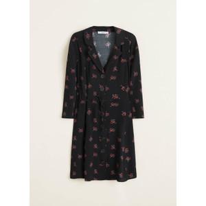 Foto Produk MANGO - DRESS SERENA Hitam - Hitam, XS dari Mango Outlet