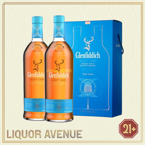 Foto Produk Glenfiddich Select Cask Twin Pack Single Malt Whisky 2 X 1 Liter dari Liquor_Avenue