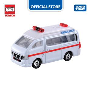 Foto Produk Tomica Regular #018 Nissan NV350 Caravan Ambulance dari Takara Tomy