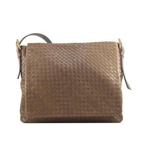 Foto Produk Bottega Veneta Brown Moro Large Messenger Bag I10949C dari SECOND CHANCE