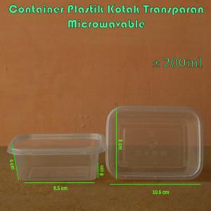 Foto Produk Container Thinwall Microwavable RT 200 ml per 25 pcs dari Medan Pack