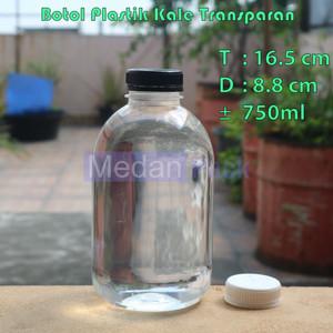 Foto Produk Botol Plastik Kale Transparan SP 750 ml per 120 pcs dari Medan Pack