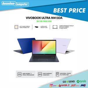 "Foto Produk Asus VivoBook M413DA-VIPS751 - R7-3700U, 8GB, 512GB, 14"", W10, Black dari Anandam Computer"