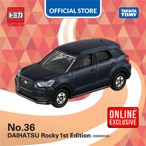 Foto Produk Tomica Regular #036 Daihatsu Rocky (Navy) [1st ver.] dari Takara Tomy