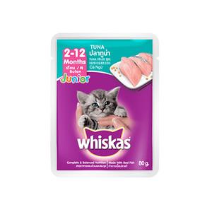 Foto Produk whiskas 80 gr kitten tuna dari F.J. Pet Shop
