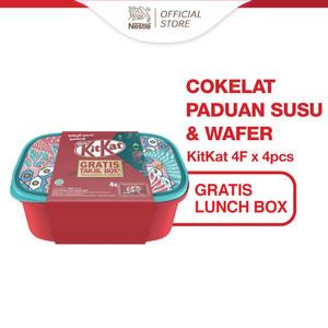 Foto Produk Nestle KitKat Coklat Wafer 4F 35g x 4pcs Gratis Hadiah dari Nestle Indonesia