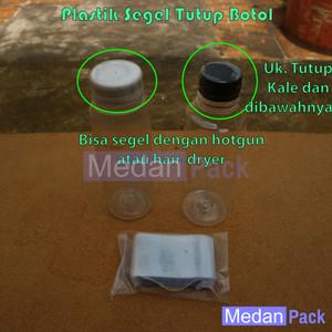 Foto Produk Plastik Segel Tutup Botol Serbaguna per 100 pcs dari Medan Pack