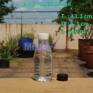 Foto Produk Botol Plastik Mungil 200 ml per 85 pcs dari Medan Pack