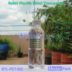 Foto Produk Botol Plastik Tetris AY 300 ml per 144 pcs dari Medan Pack