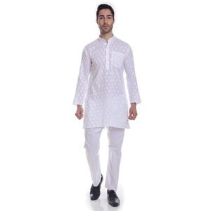 Foto Produk Putih Koko Muslim Impor Premium Baju India Kurta Kurta Hijrah celana K dari MyMind