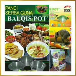 Foto Produk Panci balqis pot,(bisa COD)panci ajaib panci serbaguna Berkualitas dari natiksha