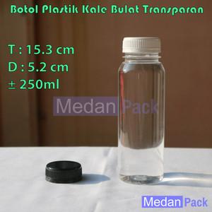 Foto Produk Botol Plastik Kale Bulat SP 250 ml per 108 pcs dari Medan Pack