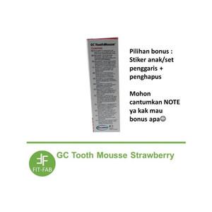 Foto Produk GC TOOTH MOUSSE Vitamin / Odol Gigi Anak 40 gram - Strawberry dari Fit-Fab
