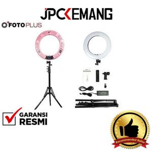 Foto Produk Ring Light LED Fotoplus RL-18 Max Pink / Ringlight LED GARANSI RESMI dari JPCKemang
