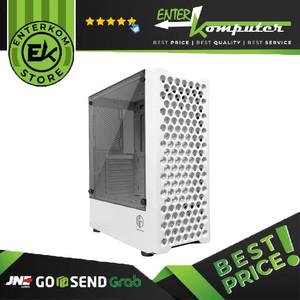 Foto Produk Casing CUBE GAMING HOLL WHITE - ATX / Casing PC Gaming dari Enter Komputer Official
