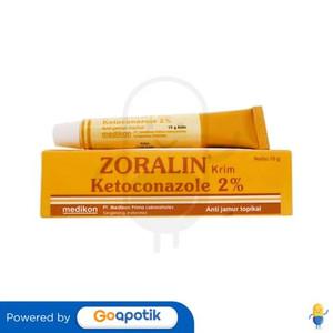 Foto Produk ZORALIN 2% KRIM 10 GRAM dari Apotek Poris Farma