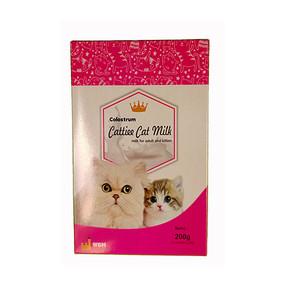 Foto Produk cattiee cat milk 200 gr (10 sachet x 20 gr) dari F.J. Pet Shop