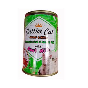 Foto Produk cattiee cat 405 gr mother and kitten norwegian crab haddock fish dari F.J. Pet Shop