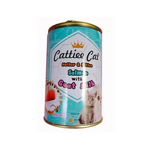 Foto Produk cattiee cat 405 gr mother and kitten salmon with goat milk dari F.J. Pet Shop