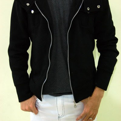 Foto Produk Button Neck Korean Hoodie Jacket  dari Clubkaos