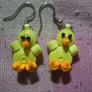 Foto Produk Anting gantung bebek dari rlsdn-3298