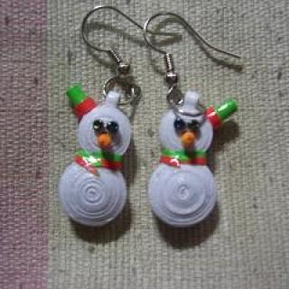Foto Produk Anting gantung Snowman dari rlsdn-3298