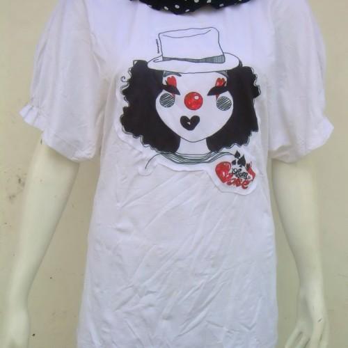 Foto Produk T'Shirt Badut Hidung Merah dari Opium Babe ^