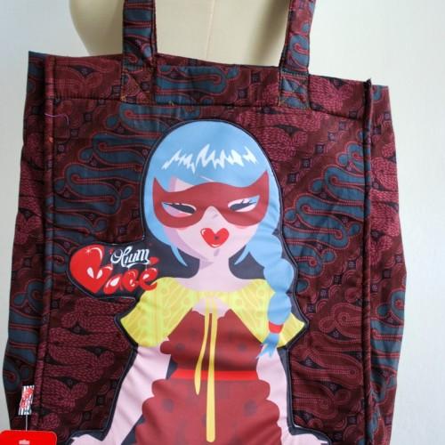 Foto Produk Tas Batik Coklat dari Opium Babe ^