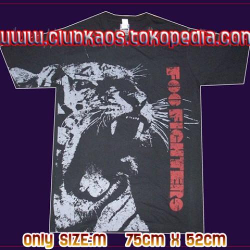 Foto Produk FOO FIGHTERS (TIGER) By TULTEX--Official Merchandise dari Clubkaos
