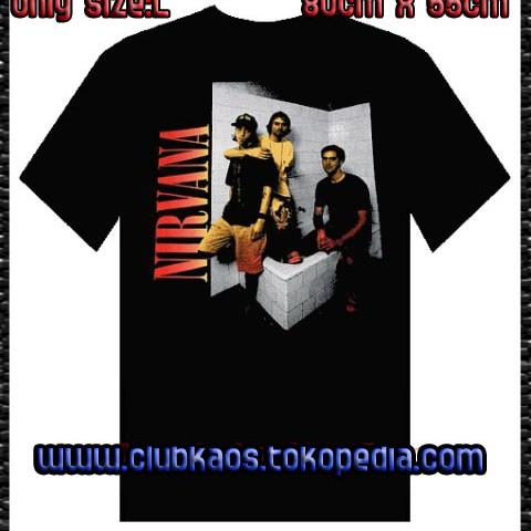 Foto Produk NIRVANA (POSE) By TULTEX-Official Merchandise dari Clubkaos