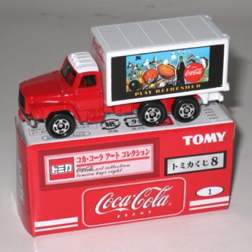 Foto Produk Tomica Kuji 08 Coca Cola #001 Nissan Diesel Truck - STOK HABIS dari Tomica Shop