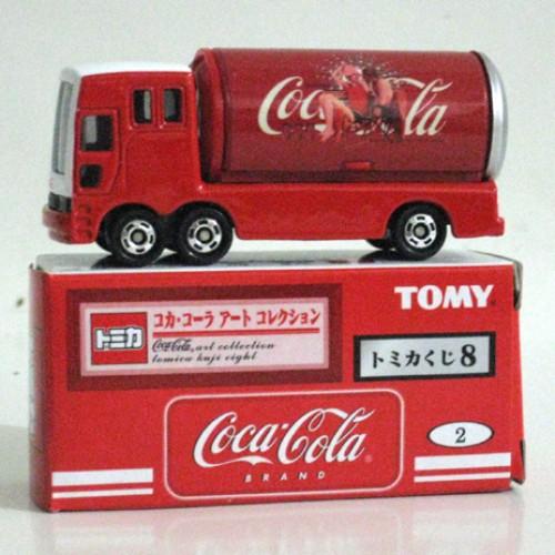 Foto Produk Tomica Kuji 08 Coca Cola #002 Event Car - STOK HABIS dari Tomica Shop