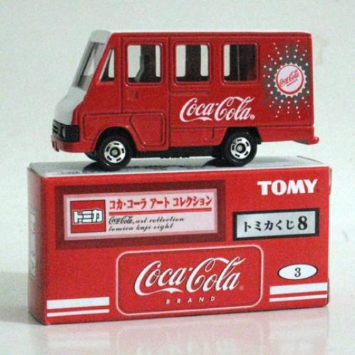Foto Produk Tomica Kuji 08 Coca Cola #003 Delivery Van - STOK HABIS dari Tomica Shop