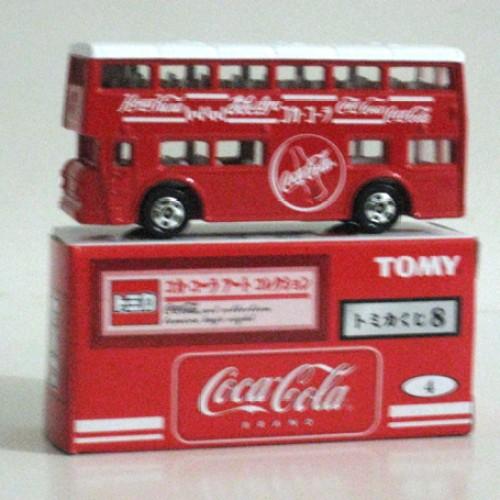 Foto Produk Tomica Kuji 08 Coca Cola #004 London Bus - STOK HABIS dari Tomica Shop