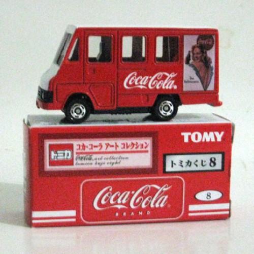 Foto Produk Tomica Kuji 08 Coca Cola #008 Delivery Van - STOK HABIS dari Tomica Shop