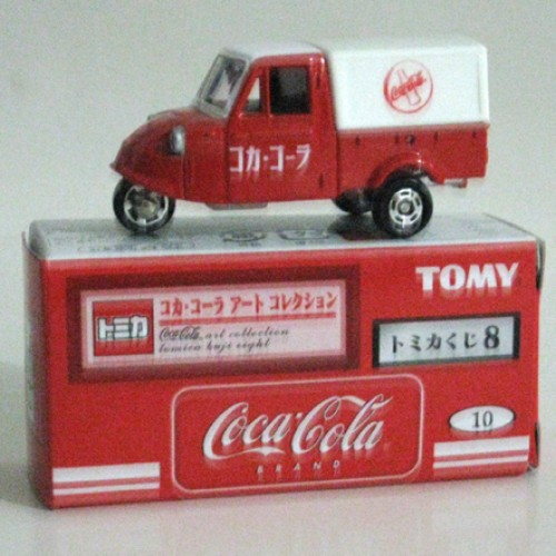 Foto Produk Tomica Kuji 08 Coca Cola #010 Daihatsu Midget - STOK HABIS dari Tomica Shop