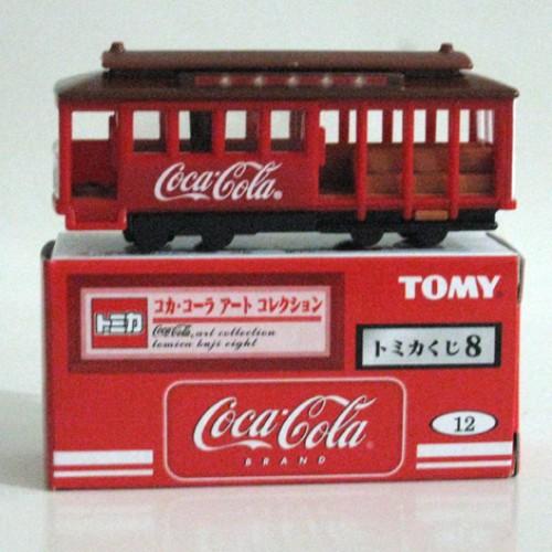 Foto Produk Tomica Kuji 08 Coca Cola #012 Cable Car - STOK HABIS dari Tomica Shop