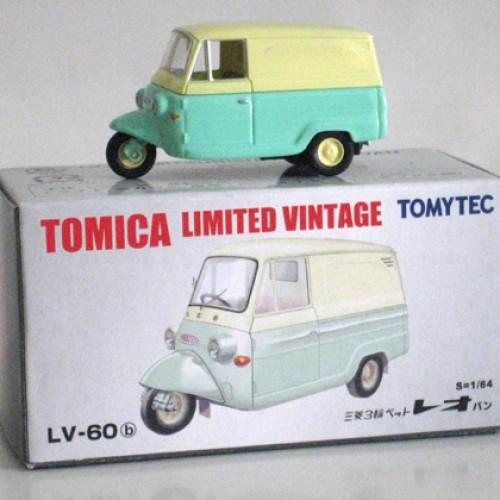 Foto Produk LV-60b Mitsubishi Pet Leo Van - SALE - STOK HABIS dari Tomica Shop