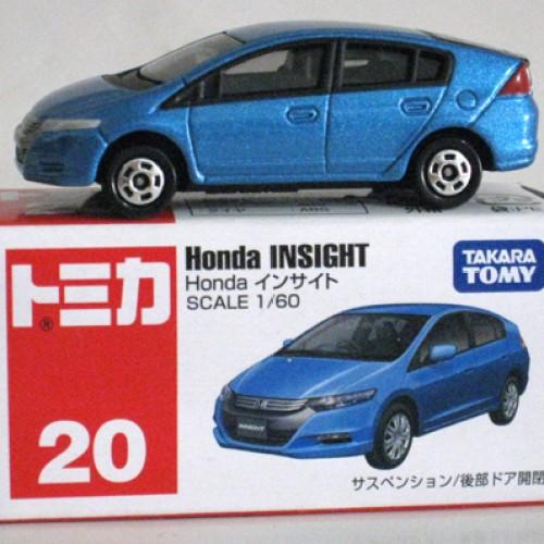 Foto Produk #020 Honda Insight Blue (TTB) dari Tomica Shop