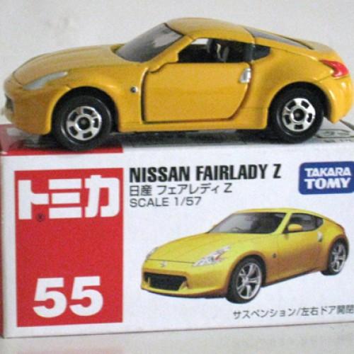 Foto Produk #055 Nissan Fairlady Z Yellow (TTB) - STOK HABIS dari Tomica Shop