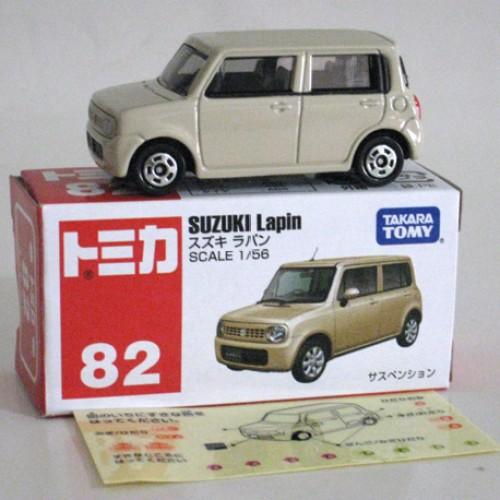 Foto Produk #082 Suzuki Lapin Cream (TTB) dari Tomica Shop