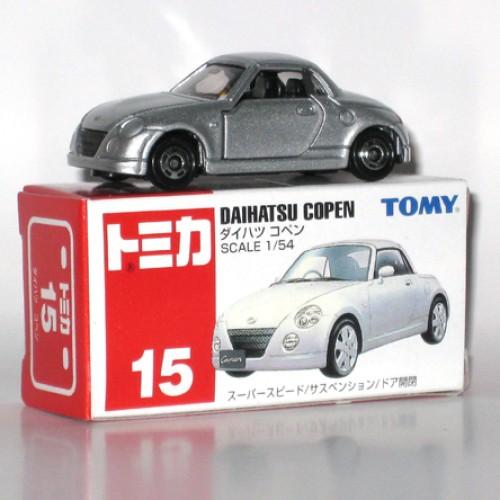 Foto Produk #015 Daihatsu Copen Silver (TB) - STOK HABIS dari Tomica Shop