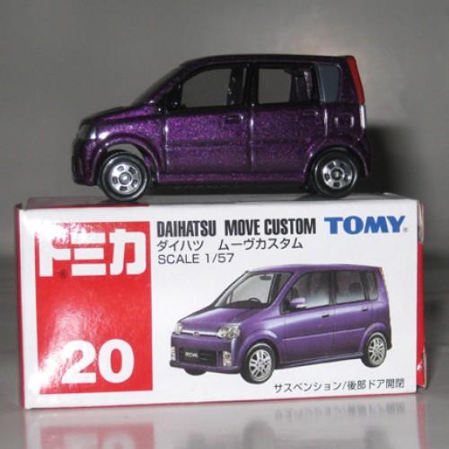 Foto Produk #020 Daihatsu Move Custom Purple (TB) dari Tomica Shop
