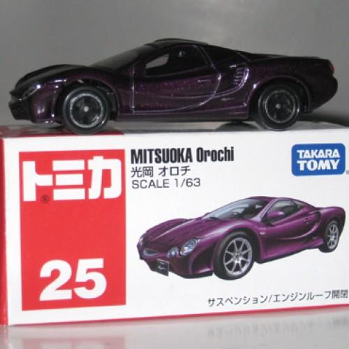 Foto Produk #025 Mitsuoka Orochi Purple (TTB) dari Tomica Shop