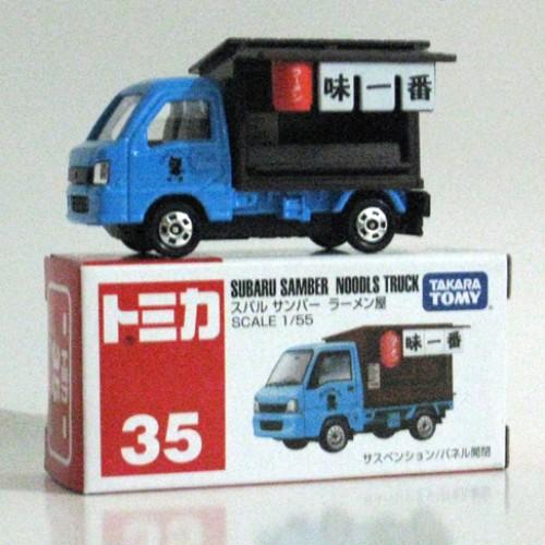 Foto Produk #035 Subaru Samber Noodls Truck (TTB) - STOK HABIS dari Tomica Shop