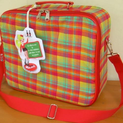 Foto Produk Koper Laptop Merah dari Opium Babe ^