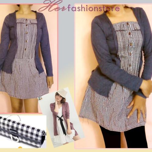 Foto Produk Eileen long sleeve mini dress  dari Herfashionstore