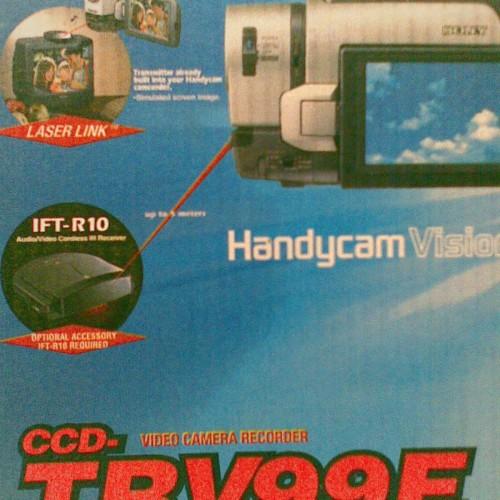 Foto Produk Sony Handycam TRV 99E,Infra Red,X-Ray dari Wagoneer.Tokopedia.Com