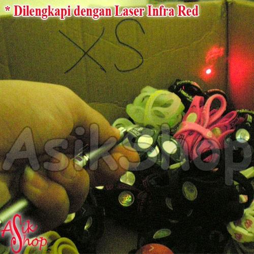 Foto Produk PEN 5in1 / Pen + Magnet + Laser Infra Red + Senter +Memanjang Hingga 50cm dari Toko Asik